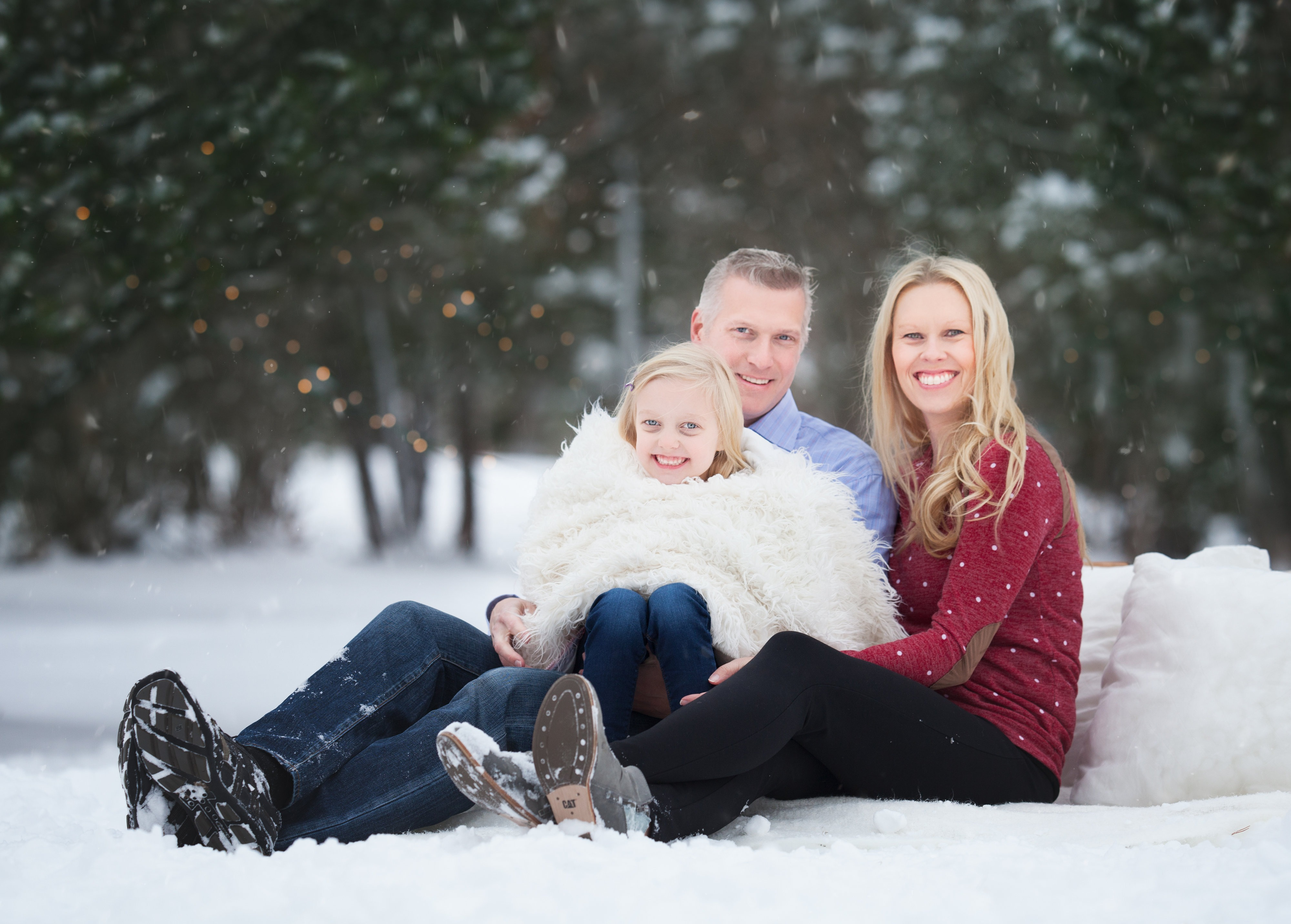Regina Family Christmas Photos