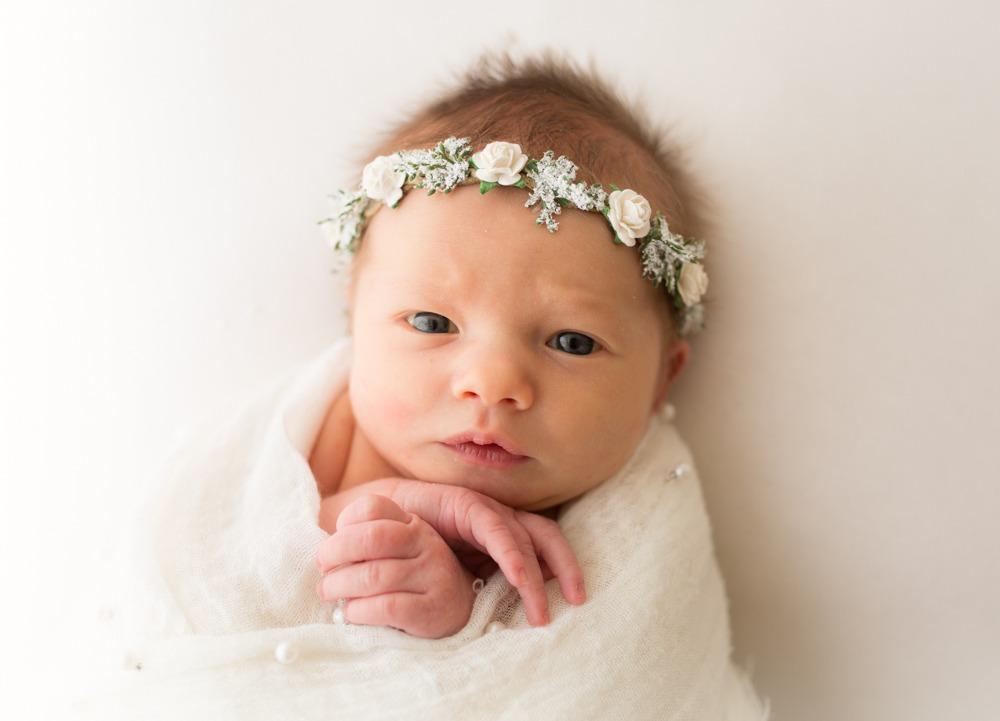 newborn photo session regina