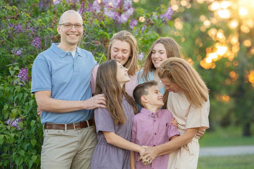 regina lilac family photography